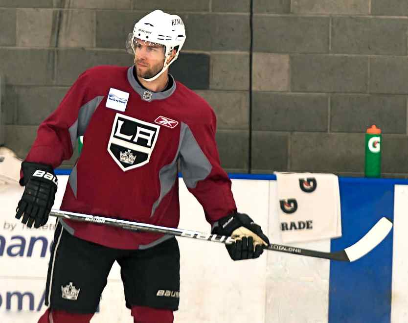 Los Angeles Kings Left Wing Simon Gagne Is Healthy Once Again