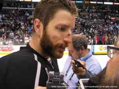 LA Kings defenseman Rob Scuderi