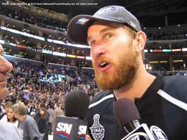 LA Kings forward Jeff Carter