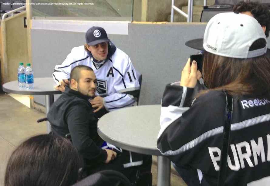 LA Kings Meet The Players-H20 - 4465