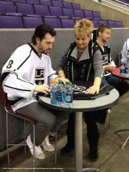 LA Kings Meet The Players-H20 - 4467