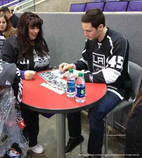 LA Kings Meet The Players-H20 - 4471