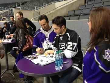 LA Kings Meet The Players-H20 - 4479