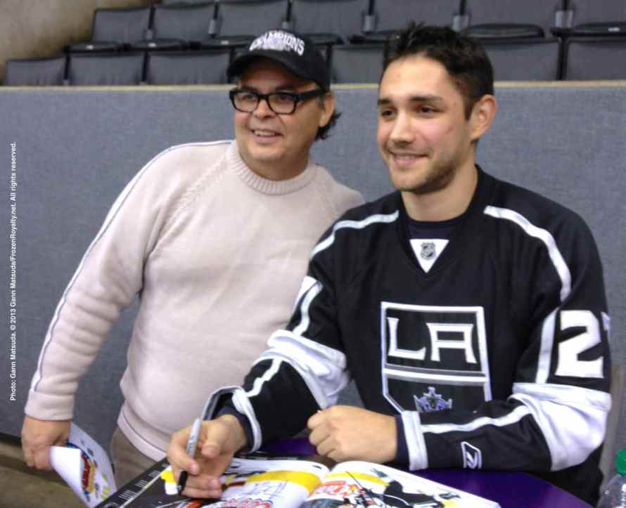 LA Kings Meet The Players-H20 - 4480