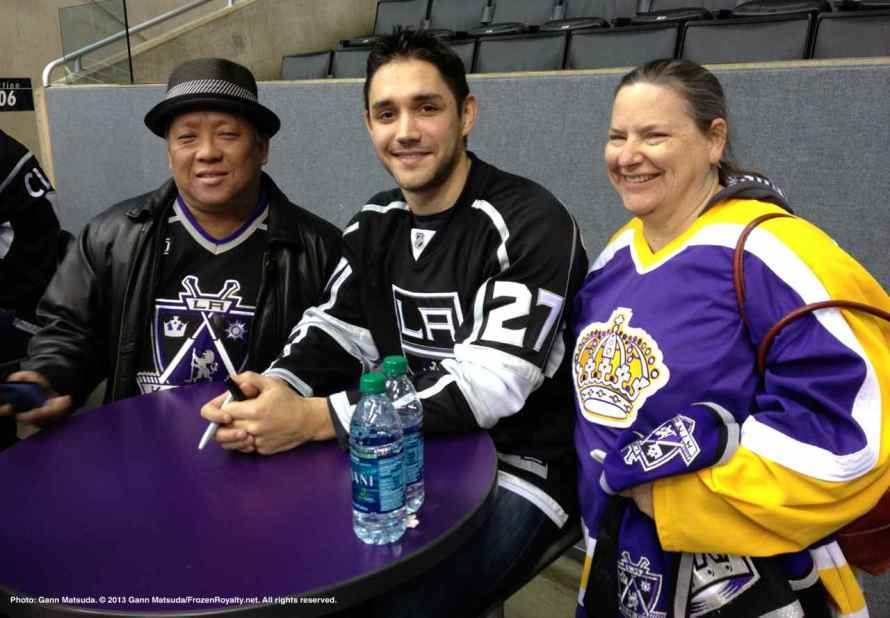 LA Kings Meet The Players-H20 - 4482