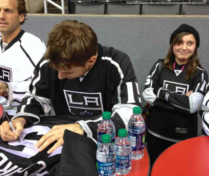 LA Kings Meet The Players-H20 - 4484