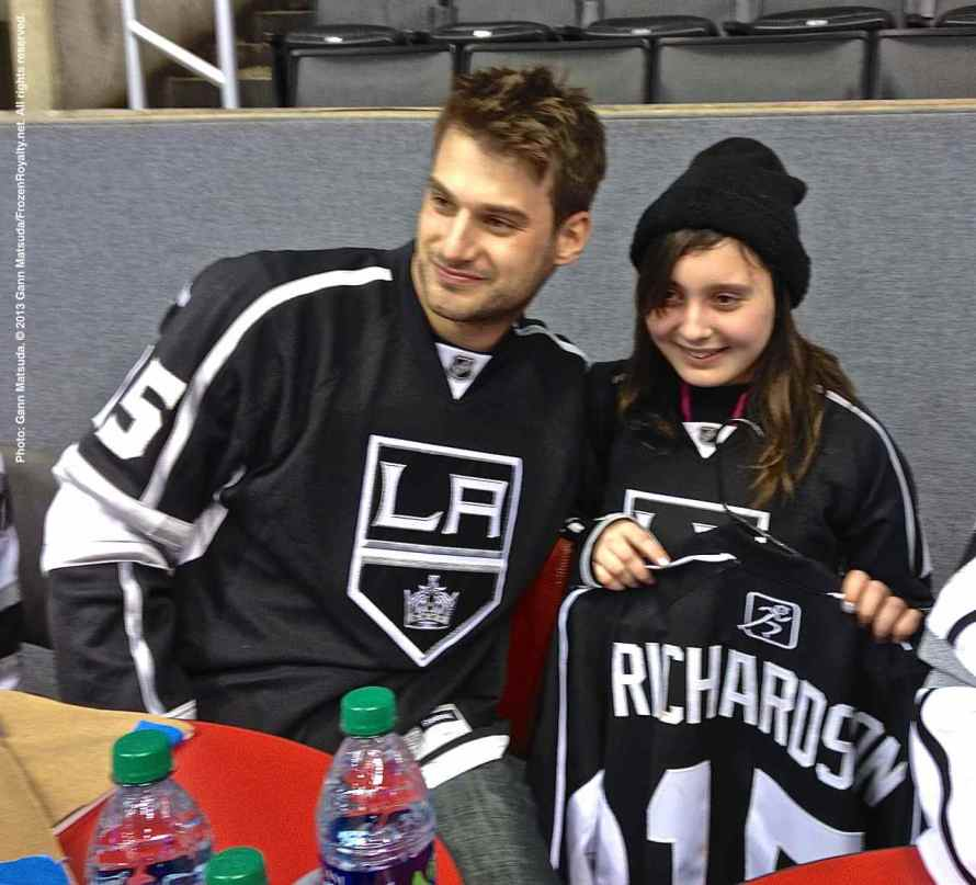 LA Kings Meet The Players-H20 - 4485