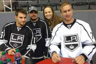 LA Kings Meet The Players-H20 - 4487