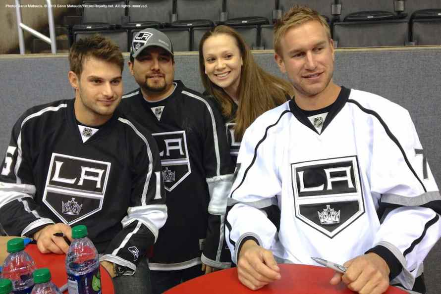 LA Kings Meet The Players-H20 - 4487