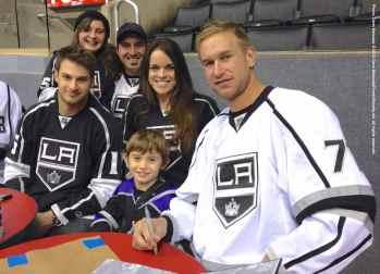 LA Kings Meet The Players-H20 - 4489
