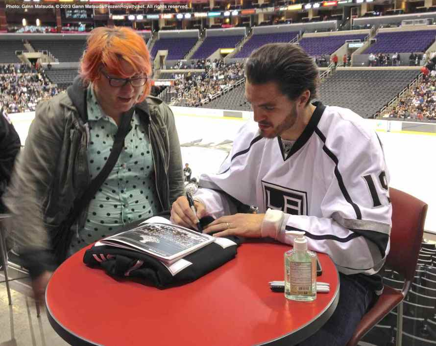 LA Kings Meet The Players-H20 - 4490