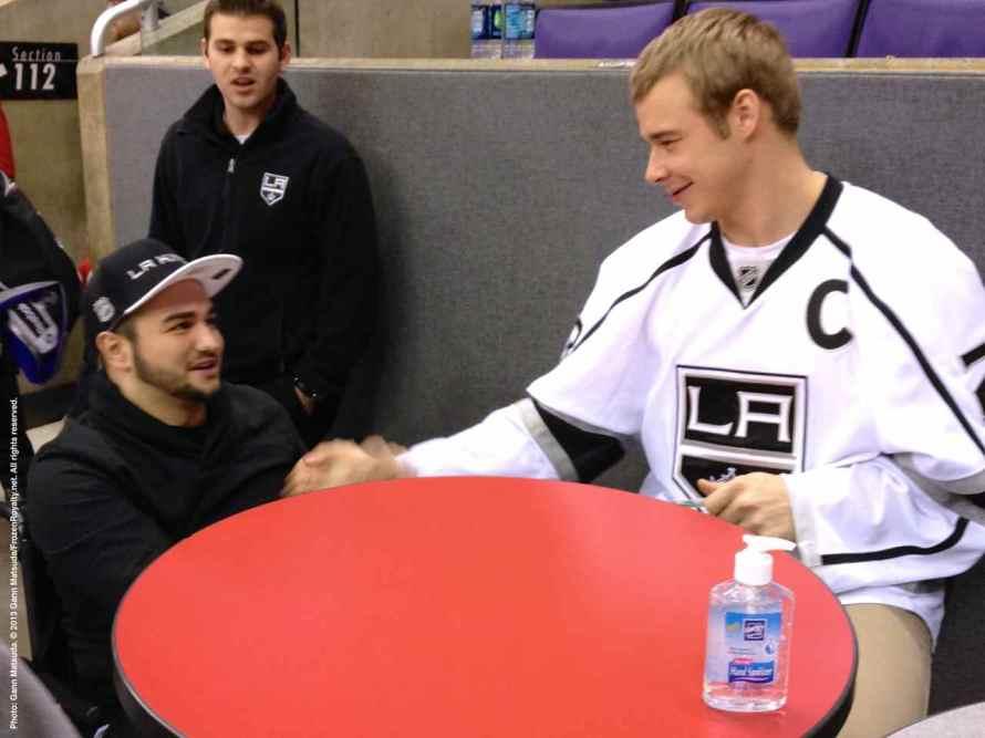 LA Kings Meet The Players-H20 - 4494