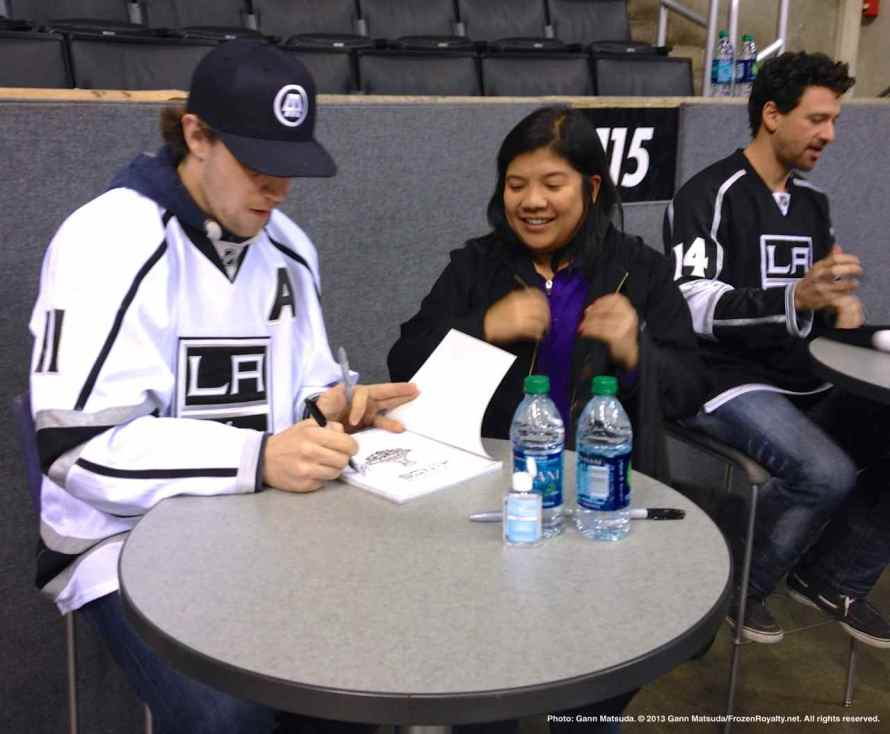 LA Kings Meet The Players-H20 - 4496