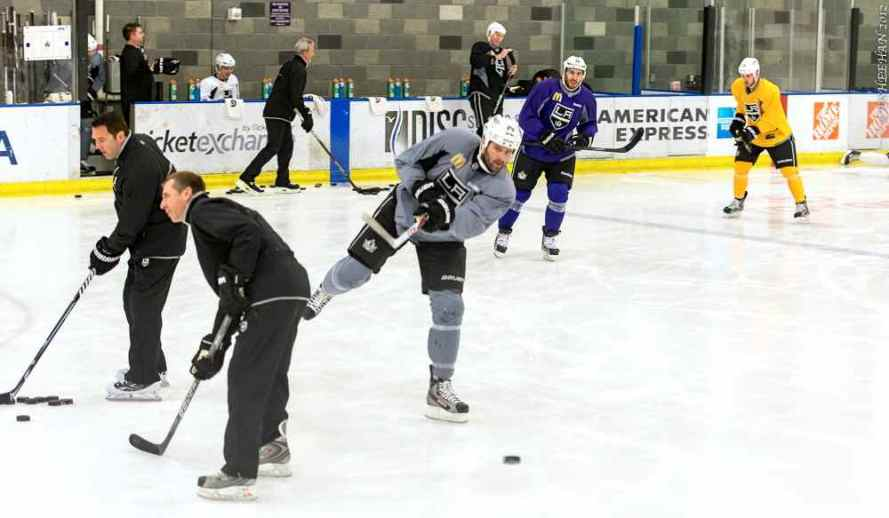 LA Kings Training Camp, 1-14-13 - 03