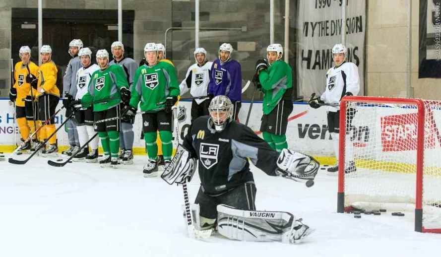 LA Kings Training Camp, 1-14-13 - 13