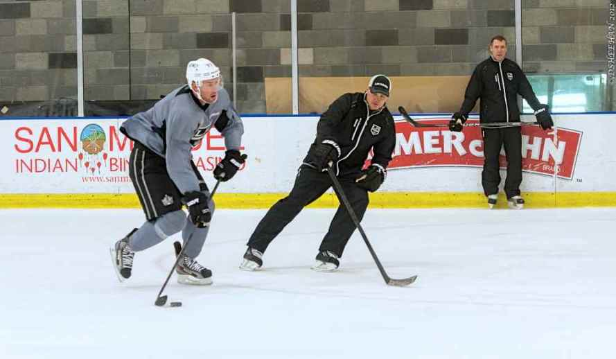 LA Kings Training Camp, 1-14-13 - 16