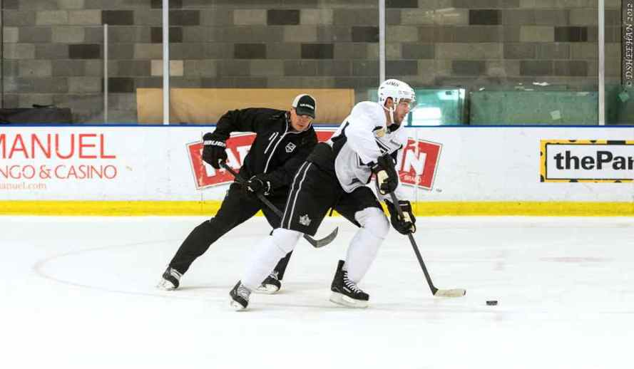 LA Kings Training Camp, 1-14-13 - 17