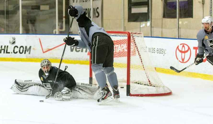 LA Kings Training Camp, 1-14-13 - 26