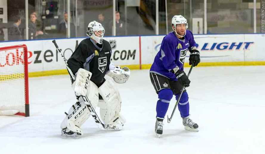 LA Kings Training Camp, 1-14-13 - 30
