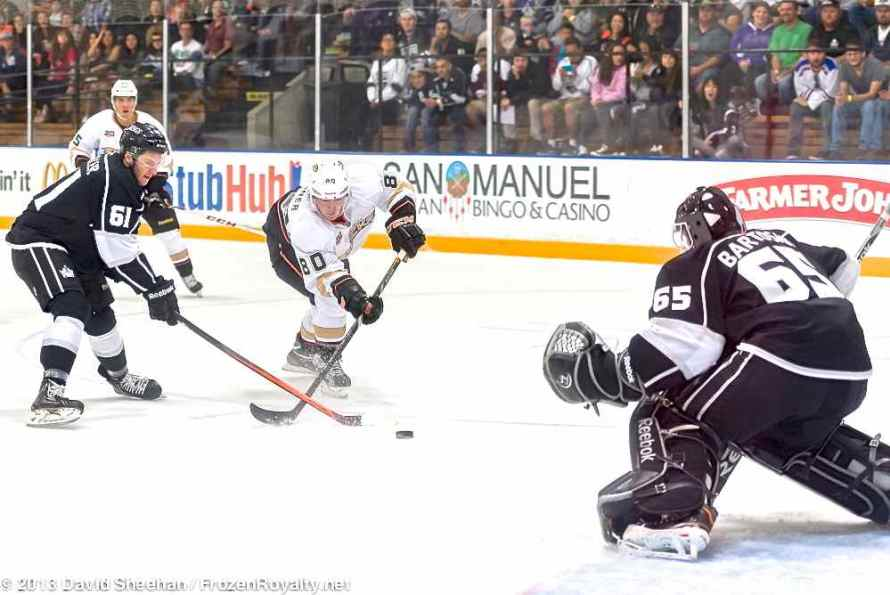 Anaheim Ducks vs. LA Kings Rookie Game, 9-9-13 - 14