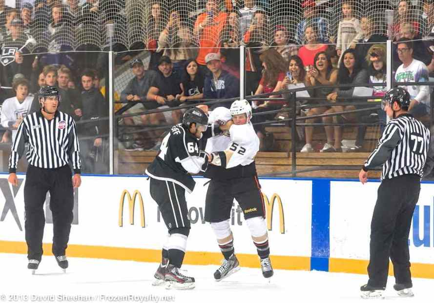 Anaheim Ducks vs. LA Kings Rookie Game, 9-9-13 - 15