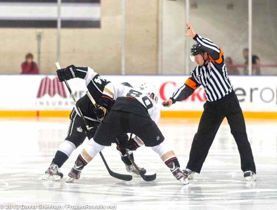 Anaheim Ducks vs. LA Kings Rookie Game, 9-9-13 - 20