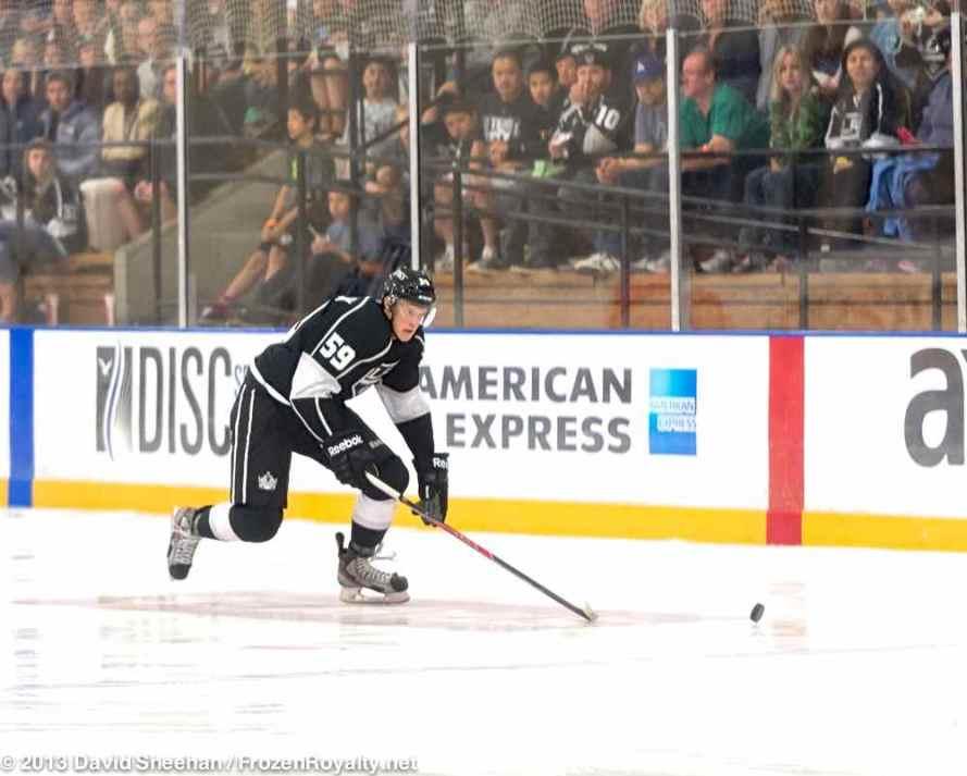 Anaheim Ducks vs. LA Kings Rookie Game, 9-9-13 - 21
