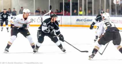 Anaheim Ducks vs. LA Kings Rookie Game, 9-9-13 - 24