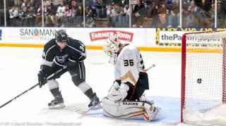 Anaheim Ducks vs. LA Kings Rookie Game, 9-9-13 - 25