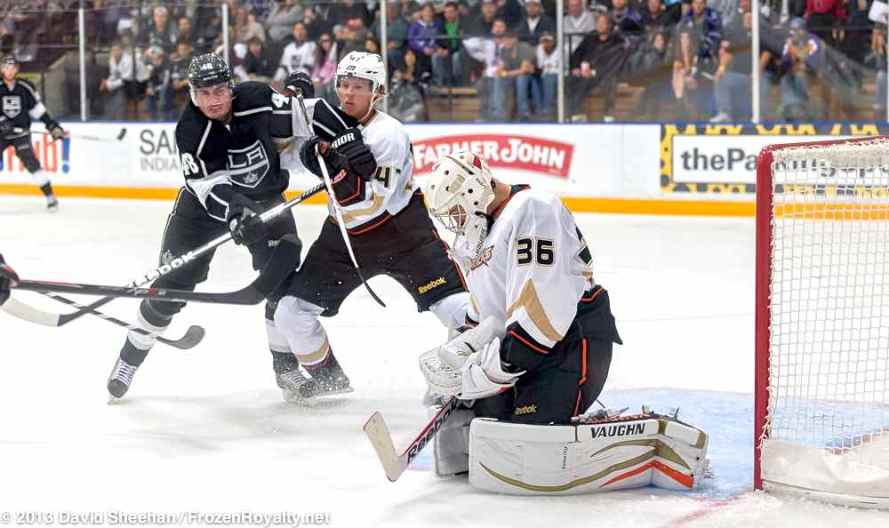 Anaheim Ducks vs. LA Kings Rookie Game, 9-9-13 - 26