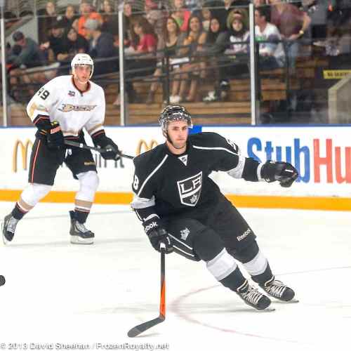 Anaheim Ducks vs. LA Kings Rookie Game, 9-9-13 - 29
