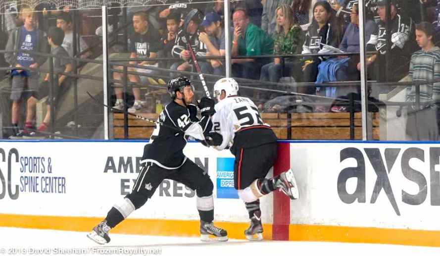 Anaheim Ducks vs. LA Kings Rookie Game, 9-9-13 - 31