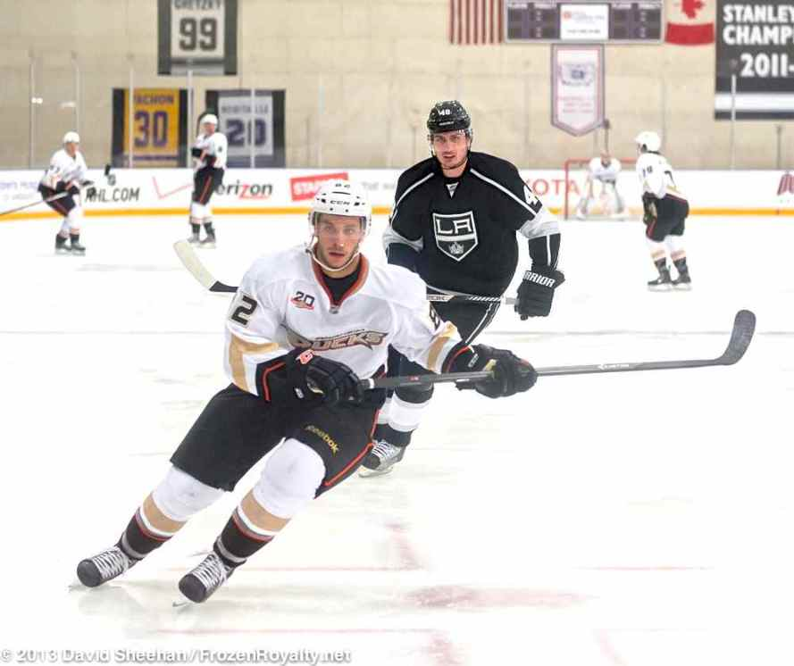Anaheim Ducks vs. LA Kings Rookie Game, 9-9-13 - 36