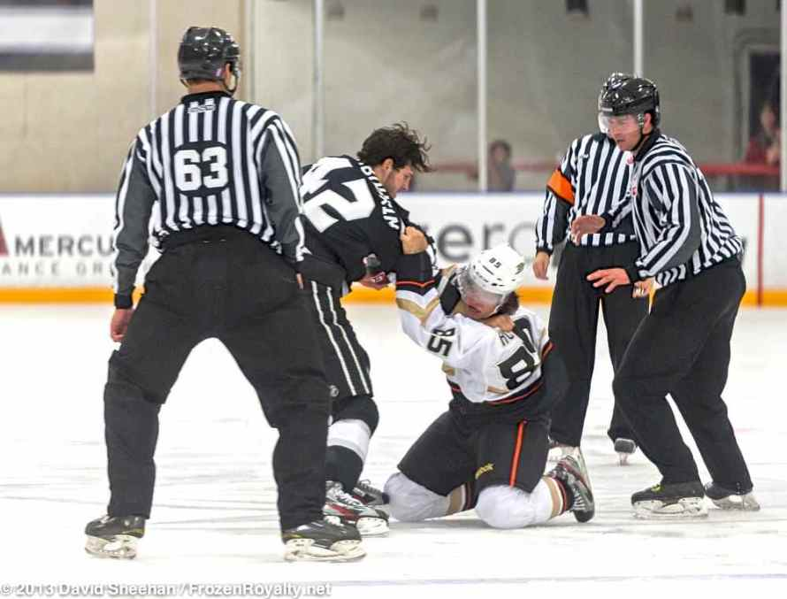 Anaheim Ducks vs. LA Kings Rookie Game, 9-9-13 - 37