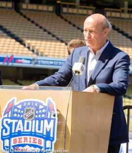 NHL Stadium Series Press Conference - 08
