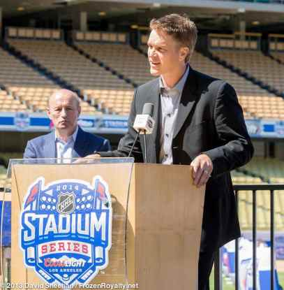 Los Angeles Kings President/Business Operations Luc Robitaille