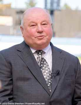 Anaheim Ducks head coach Bruce Boudreau