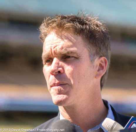 LA Kings President/Business Operations Luc Robitaille