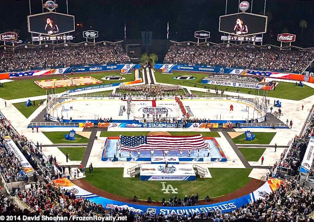 2014 Stadium Series Los Angeles – In Photos