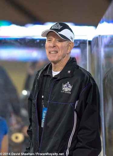 LA Kings retired head athletic trainer Pete Demers