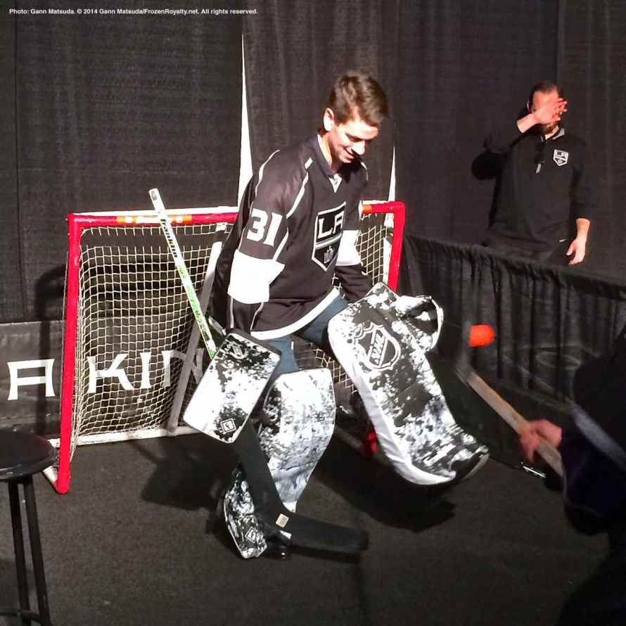 Goalie Martin Jones