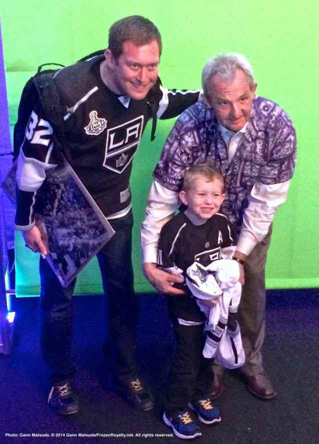 Head coach Darryl Sutter with fans