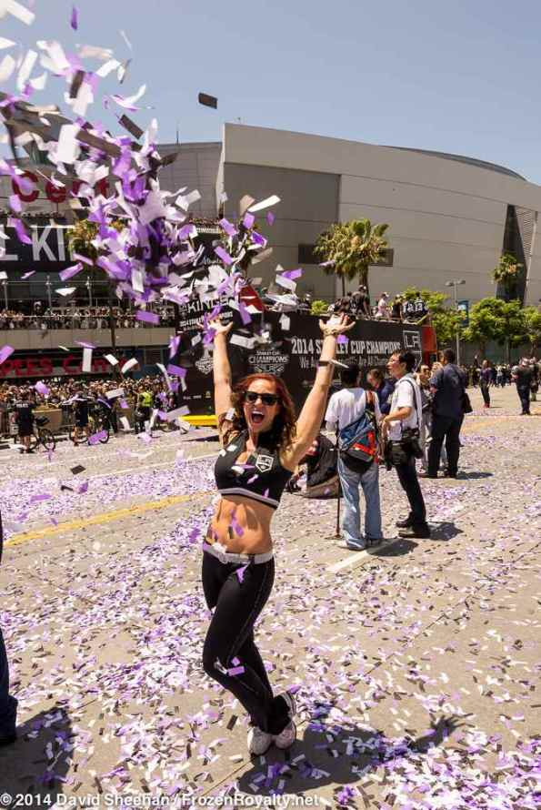 LA Kings Ice Crew member Arsee