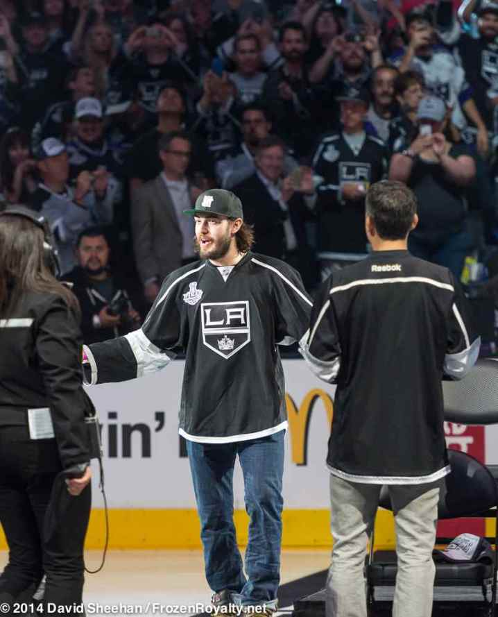 Defenseman Drew Doughty