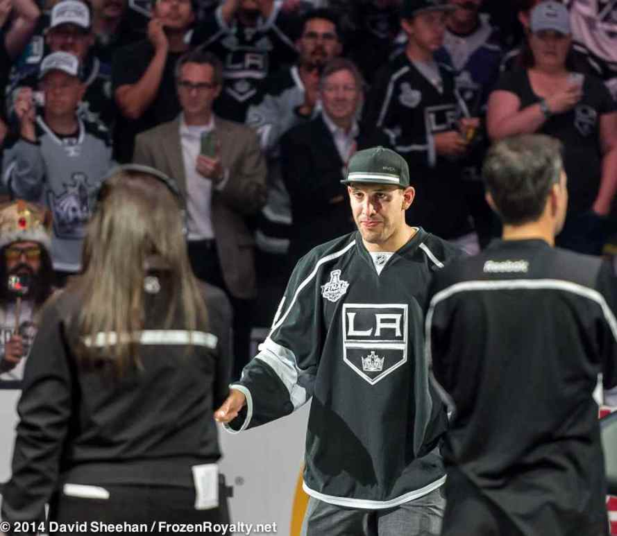 Left wing Dwight King