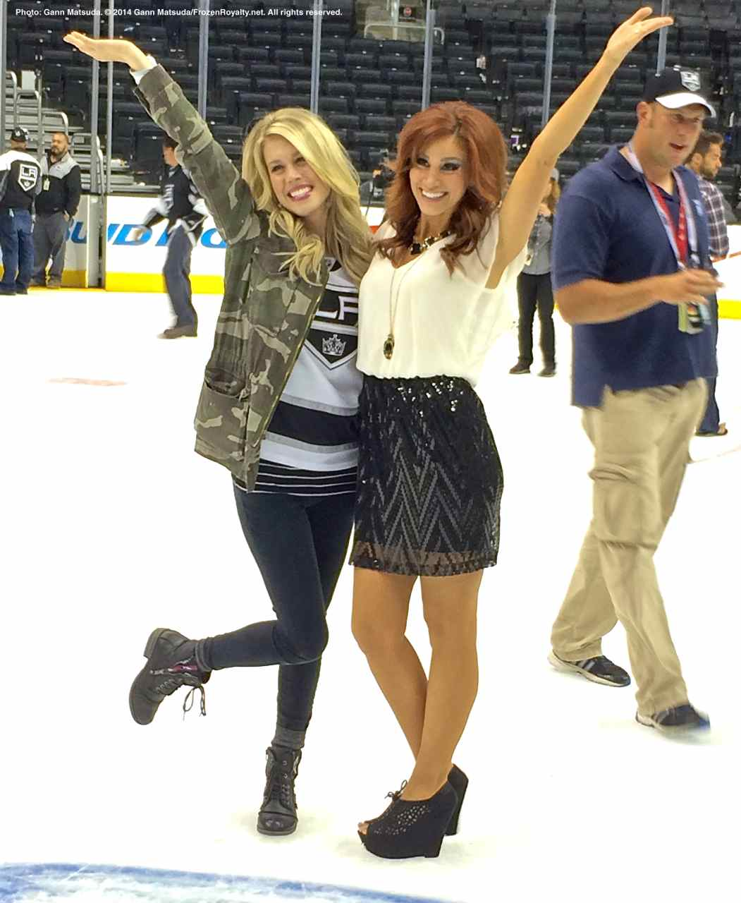 View From The Ice After LA Kings Win 2014 Stanley Cup ...