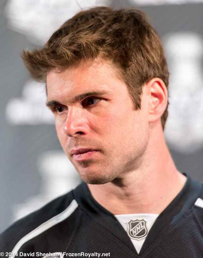 Defenseman Willie Mitchell