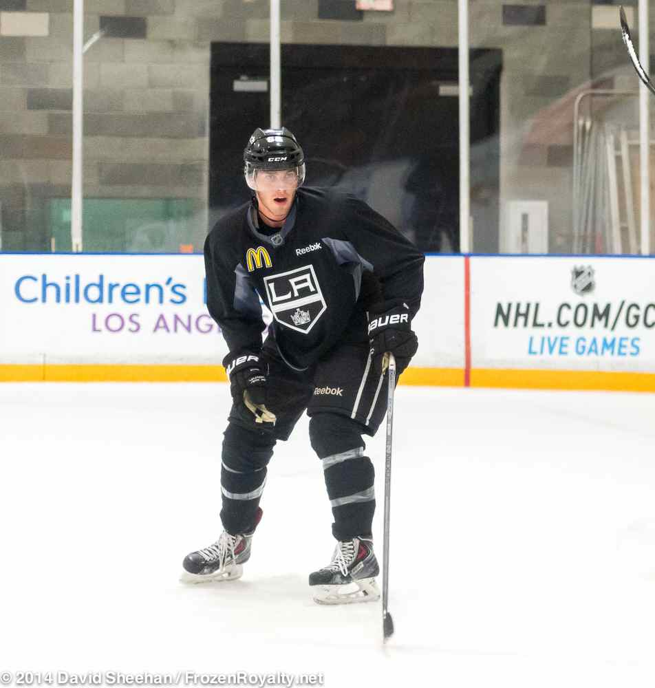 La Kings Open Their 2014 Training Camp In Photos
