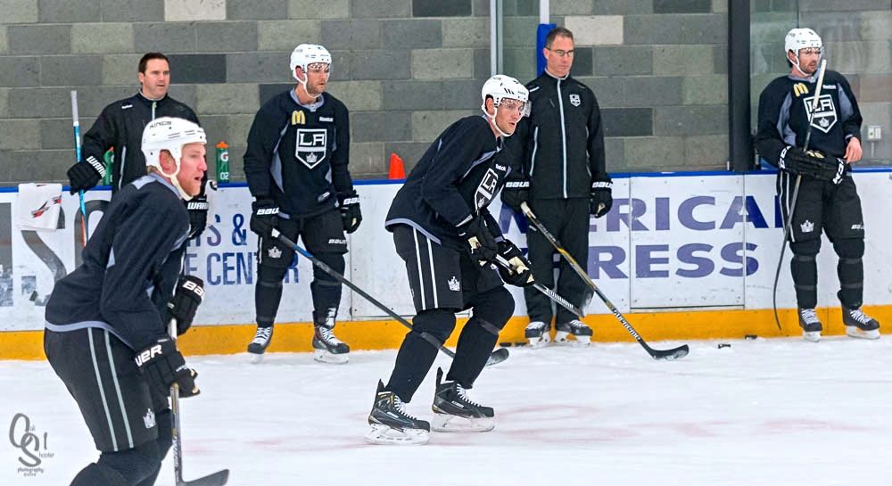 a3b8551ab31 Attending Los Angeles Kings Practice Sessions