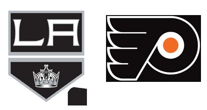 LA Kings Flyers Logos